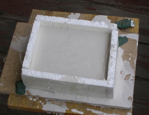 Как сделать гипсовую форму для отливки свинца