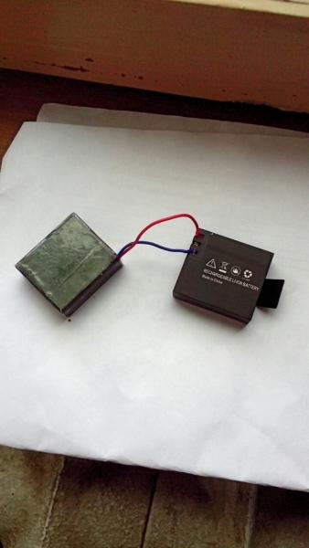 Зарядил акумы,карта памяти